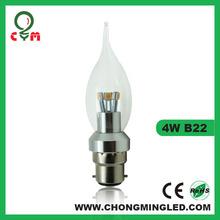 4-5w E27/B22/E14 SMD LED Candle for Australia market