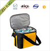 high quality 420d polyester 6-pack cooler tote bag for cans