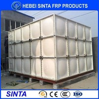 Factory price concrete support elevated water tank/concrete water tank