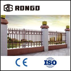 Metal fence aluminum decorative garden fence