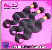 Competitive price with better quality hair Hot body wave virgin Eurasian hair