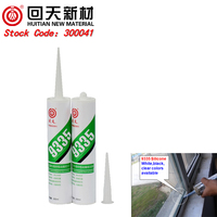 HT9335 silicone sealant adhesive fabric for furniture glass adhesive