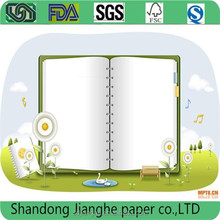 Used for notebook uncoated Woodfree Offset Printing Paper