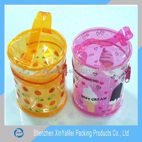 おもちゃの特殊な透明なプラスチック製のリム小さなジップロックポリ塩化ビニール袋