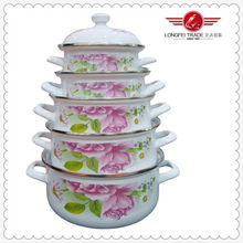 2015 New Design for Enamel Casseroles