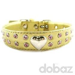 Fationable pearl collar for dog used dog training collar rhinestone dog necklace