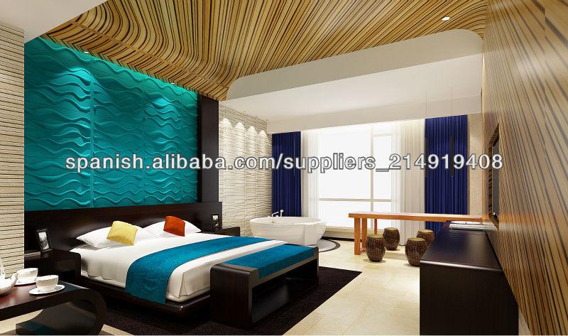 Materiales de construcci n revestimientos de paredes for Revestimiento paredes interiores pvc