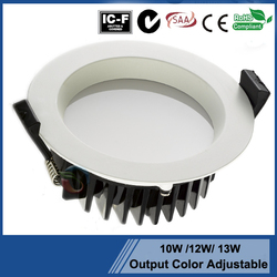 Best quality promotional SAA led downlight glass