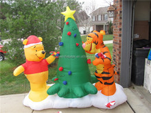 air-blown inflatable yard decorations christmas