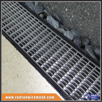 Gutter grill gully grid garage floor trench drain galvanized water drainage cover
