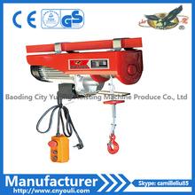 Alzamiento eléctrico de la metalurgia de China 5t