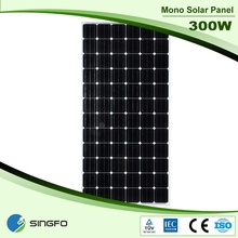 Best quality and high efficiency 300W Mono Poly Solar Panel