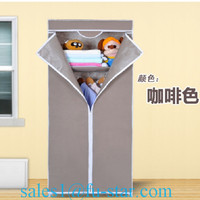 SW unique portable Folding Indian wardrobe designs very cheap bedroom furniture