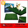 Indoor Pet Toilet Dog Grass Restroom Potty Training with Tray and Loo Pad H0157