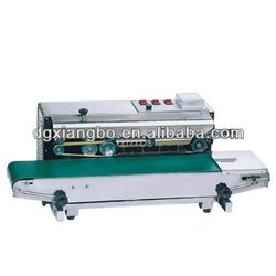 FRD-1000 Horizontal Continuous Heat Band Sealer,Plastic Film Heat Sealing Mahcine With Date Coding