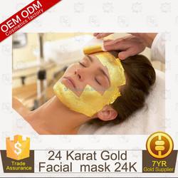 OEM/ODM Anti Aging Anti Wrinkle 24K Gold Peel Off Facial Mask