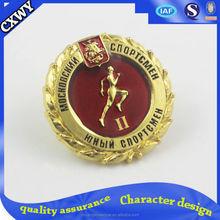 metal security badges