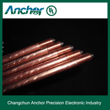 UL listed copper clad earthing rods