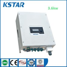 Kstar 3600w 50/60hz solar power inverter on grid, CE approved dc to ac home inversor solar