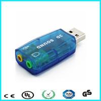 Wholesale 3d sound card usb driver for laptop / pc