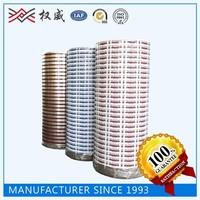 SGS and ISO9001 certificate custom printed jumbo roll bopp tape