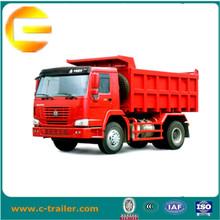 SINOTRUK HOWO 15 ton 20 ton 25ton euro 2 Mini Camión volquete volquete minero camionetas 4x4