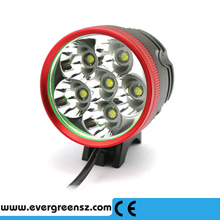 2015 New Development super Brightness 8.4v 7000Lumens bicycle light With big 8800mAh Battery Pack