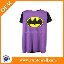 High quality popular custom design superhero t shirt