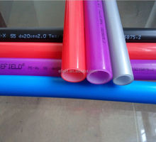 Double layers different color and spec.pex pipe for water system