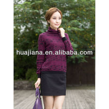 women's cashmere turtleneck sweater for winter