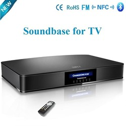 5.1 home theater lcd tv speakers/soundbar with built in subwoofer