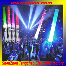 Promotional concert or party flashing led foam glow stick