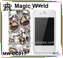 GOLD PRECIOUS HANDMADE GLITTER PHONE CASES