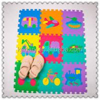 picture printed interlocking Eva tatami mat for children