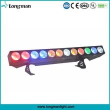 High power CE 12*25w cob rgbw amber led light bar