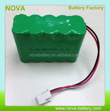 rechargeable nimh battery pack aa 12v 800mah
