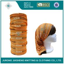 Seamless multifunctional arabic hijab tube turban