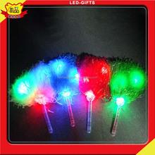 Kids Favor Plastic Favors LED Light Up Pom Poms Basketball Games Cheering Item LED Lala Flower