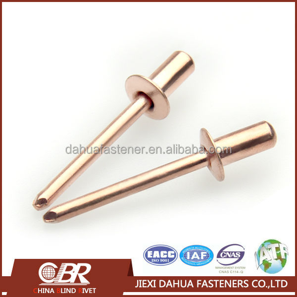 Copper Nickel Round Head Metal Waterproof Blind Rivet.JPG