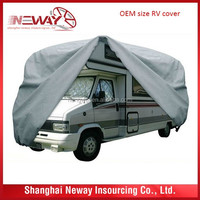 big size PVC+ cotton material waterproof and snow proof car trailer cover