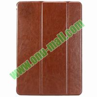 Crazy Horse Texture 3 Folio Leather Cover for iPad Air / iPad 5