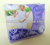 High Quality Competitive Price Brand Name Sanitary Napkin with logo Manufacturer from China