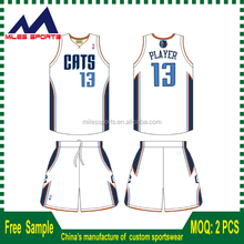 full covered sublimation basketball jersey/ shorts