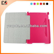 OEM service stand leather case for ipad air accessory