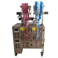 Double chamber tea bag packing machine