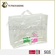 Promotion Transparent Plastic Bag, Travel Plastic Bag