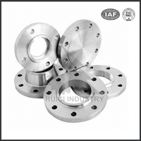 astm a182 f316l slip on stainless steel screw jack with flange
