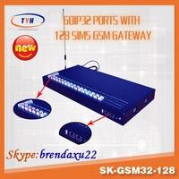 voip telecom sk-gsm32-128 32 port quad band gsm voip gateway