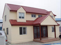 well designed villa, ready made house, light steel homes