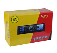 Car Vehicle Audio Stereo 1 din in Dash FM Receiver MP3 Player USB SD Card input AUX Fix Panel KSD-6205